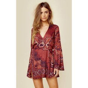 The Jetset Diaries Kilim Mini Dress